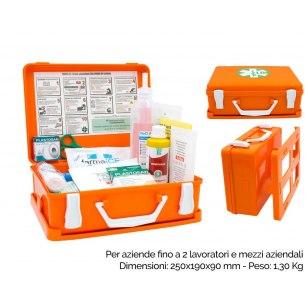 Kit Pronto Soccorso all. 2 - Valigetta Plastica