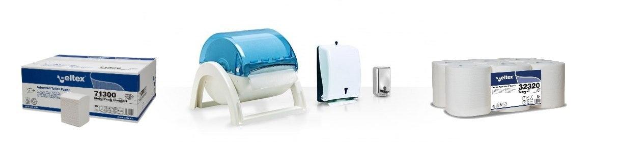 Sistemi professionali per l'ambiente bagno e l'igiene della persona