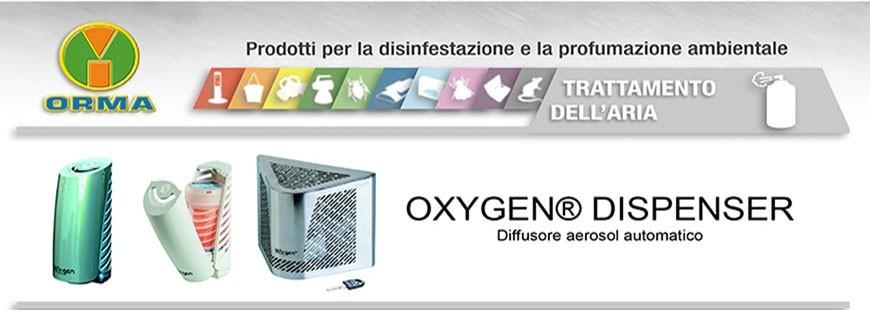 OXYGEN®  - Diffusore aerosol automatico